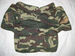 Камуфляжная курточка для собаки или кота