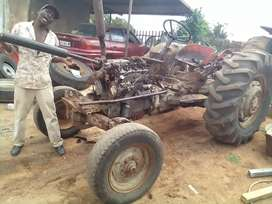Selling tractors and spares