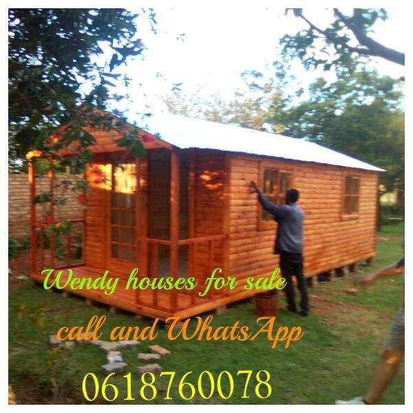 Wendy houses for sale for different sizes contacts on Board 0
