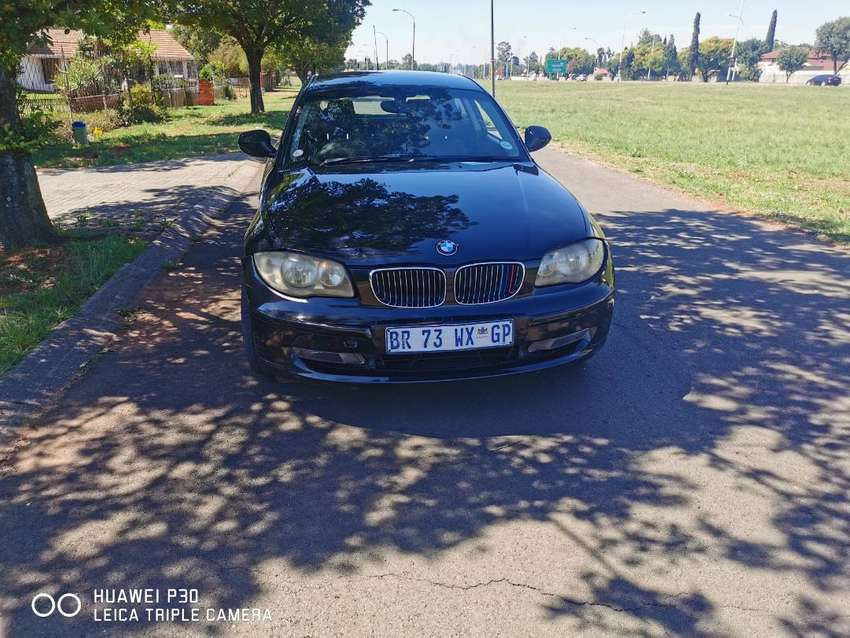 I am selling 130i black BMW for 8500 and it has few dent 0