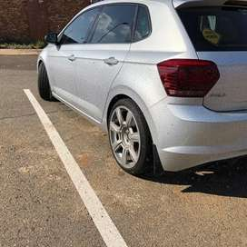 Polo 8 mud flaps DBN