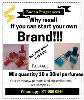 Start your own fragrance/ brand today!
