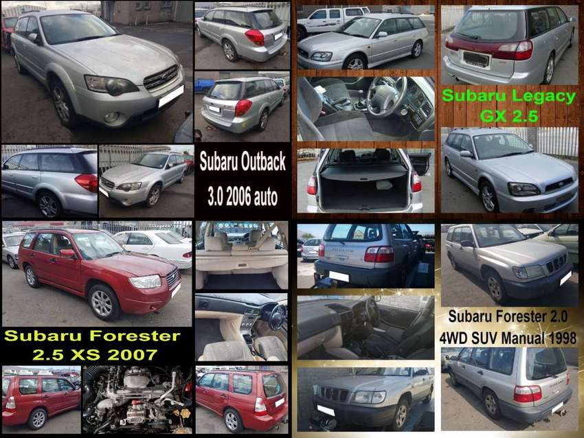 Subaru Forester, Outback and Legacy stripping for spares. 0