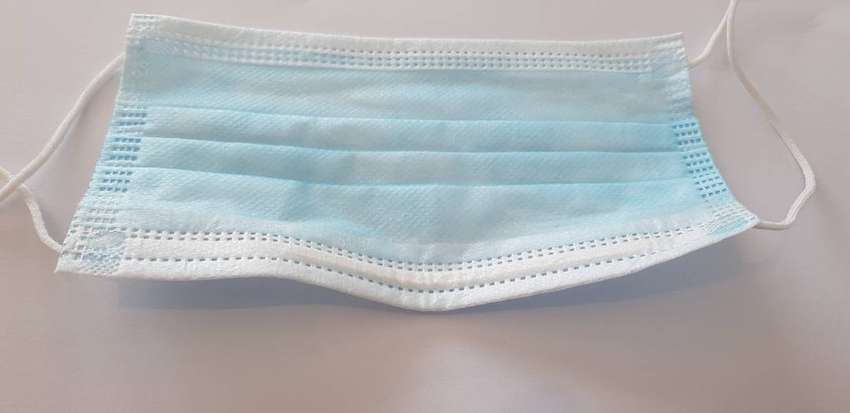 3 PLY DISPOSABLE MASKS CERTIFIED 0