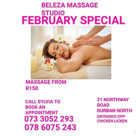 February Massage Special