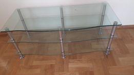 Duża stolik/ława szklana może również służyć jako szafka rtv