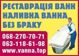 Ремонт и реставрация ванн методом наливная ванна