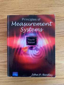 Principles of Measurement Systems Bentley