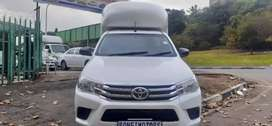 TOYOTA HILUX SINGLE CAB LONG BASE WITH CANOPY