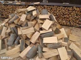 Suche drewno kominkowe BUK DĄB JESION - Transport