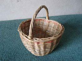 Корзина плетёная ручная работа