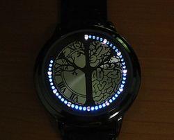 Сенсорные часы