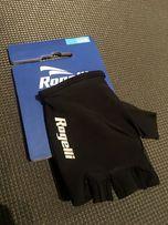 Rogelli belcher rękawiczki rowerowe czarne