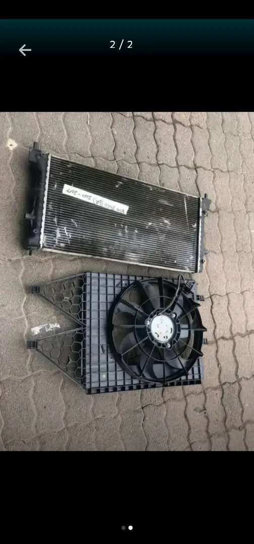 Vw polo 6R fan and radiator 0