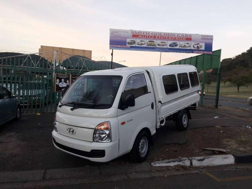 2009 Model Hyundai H-100 Bakkie 2.6D deck 0