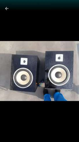 Two 12inc sony speakers