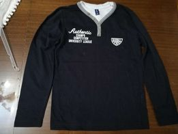 Bluzka bawełniana chłopięca rozmiar 140, cena 10 zł