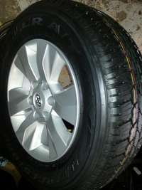 Image of 265/65 R17 Bridgestone tyre X4