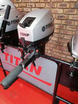 New Titan Outboard Motor 10 HP