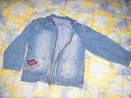 Курточка джинсовая ветровка 150 руб