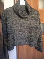 Sweter / golf modny krój, over size/M