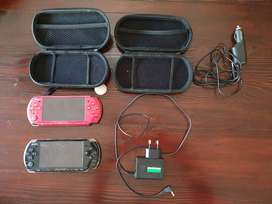 2x PSP 3004 + 54 Games for sale
