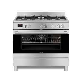 AEG 90cm Gas / Electric Free-Standing Cooker - 10369MM-MN