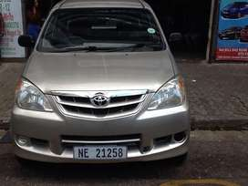 Toyota avanza for sale in good condition
