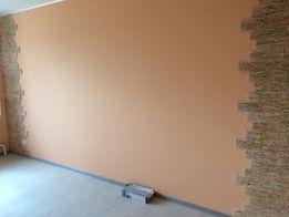 Покраска стен, потолков, фасада, забора. Малярные работы. Фактурка