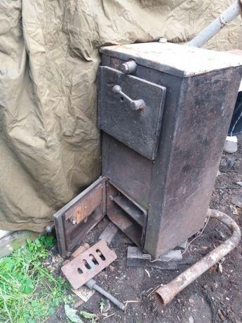 Печь котел с форсунками . Находится в Каменском