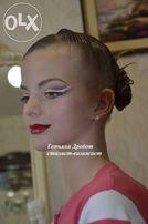 Прическа и макияж для бальных танцев. Рейтинг.