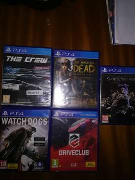 Ps4 games for sale /no swaps