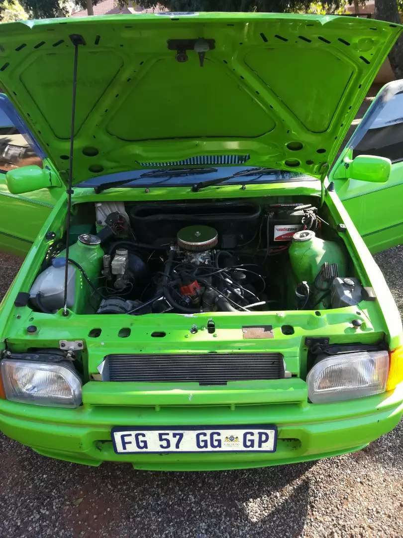 Ford Bantam bakkie with a 3L V6 ESSEX Cortina motor 0