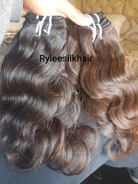Brazilian and Peruvian unprocessed hair