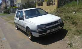1995 golf 3 .  1.6 injected