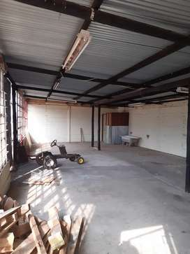 Workshop to rent 3 phase electricity