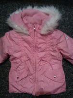 Sprzedam używaną kurtkę zimową dziewczęcą rozm. 4 lata