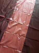 Zasłona bordo tafta 4 szt. + wiązania
