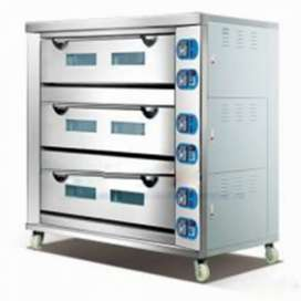 3 Deck 9 Tray Electric baking ovens