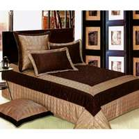 Image of Leather bedspread