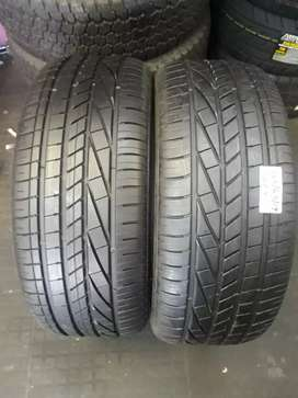 2x Good 2hand Goodyear 245/45/R19 New tyres
