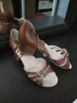 Туфли для бальных танцев,кожа.