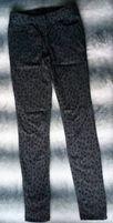 Spodnie H&M w panterkę .