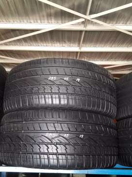285/45/19 Tyres