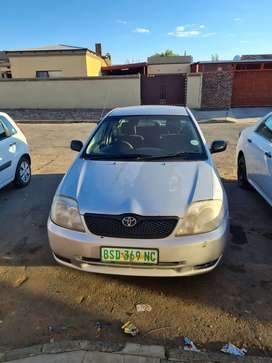 Toyota corolla 1.6 i 2004 models 162000km car in good  condition