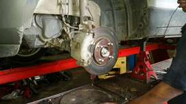 Suspension repairs and service after hours