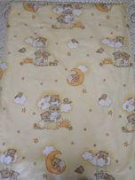 Детское постельное на кроватку + стойка на балдахин в подарок!