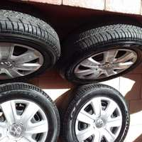 Image of Vw Polo vivo. 14 tyres and rims