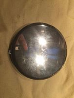 Зеркало дамское карманное посеребренное Towle редкое винтаж