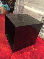 Kontener kontenerek qubic Optic 41 cm czarny